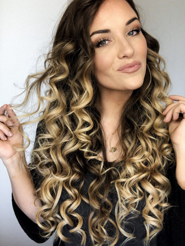 blow dry tips for bigger hair and big curls
