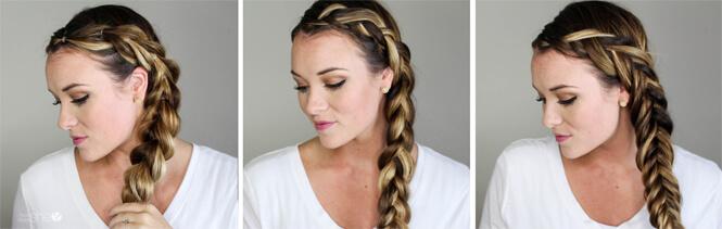 3 ways to style a side braid