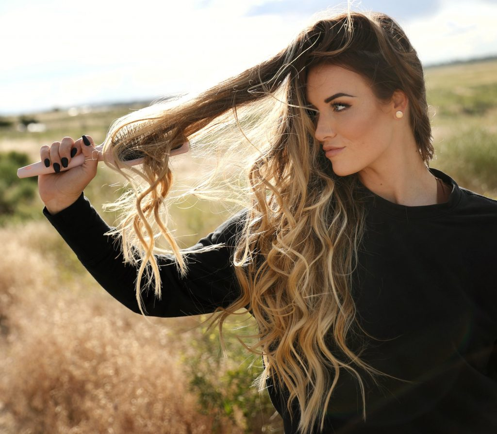 hair and makeup tutorial in 20 min and the best hair tools by lange