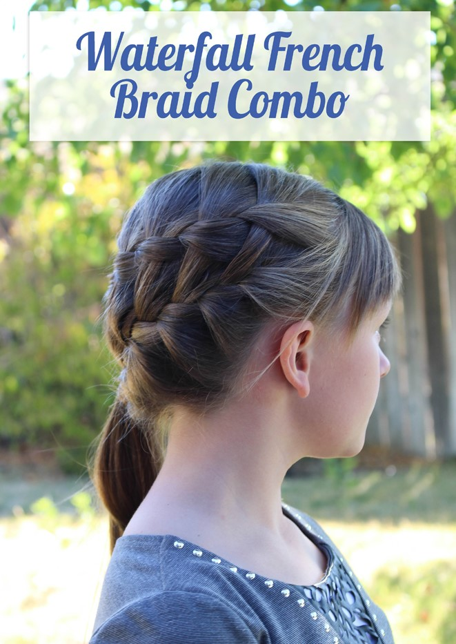 hairstyles for kids - french braid