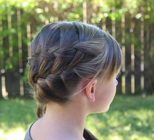 hairstyles for kids waterfall braid and french braid